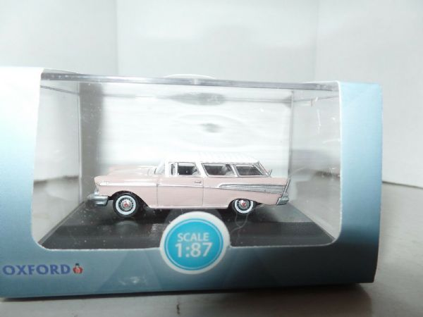 Oxford USA 87CN57001 CN57001 1/87 Chevrolet Nomad 1957 Dusk Pearl Imperial Ivory